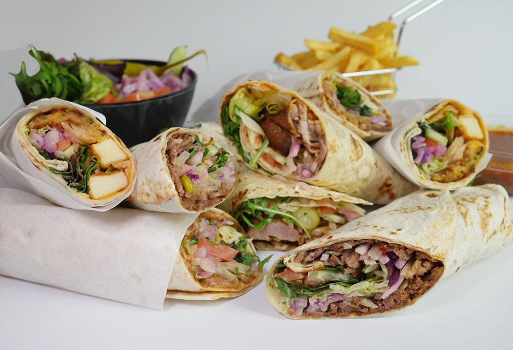 Mono Wraps shawarma wrap London Holloway Arsenal E.Mono emono feed the lion